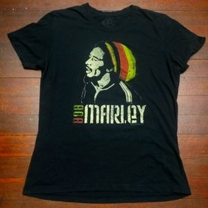 BOB MARLEY T-SHIRT 👕 music reggae tee shirt Med